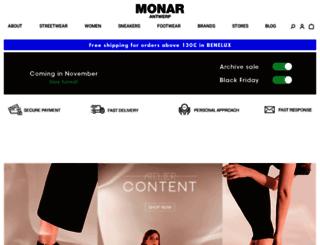 monar.be screenshot