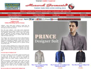 monarch-garments.com screenshot