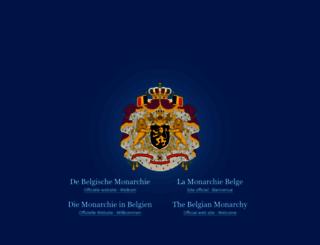 monarchie.be screenshot