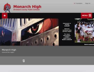 monarchknights.com screenshot