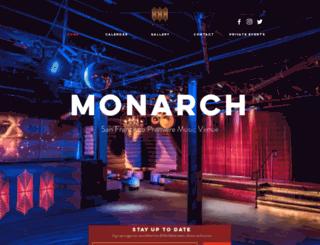 monarchsf.com screenshot