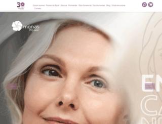 monas.com.br screenshot