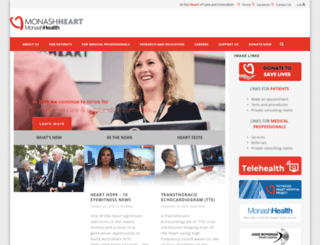 monashheart.org.au screenshot