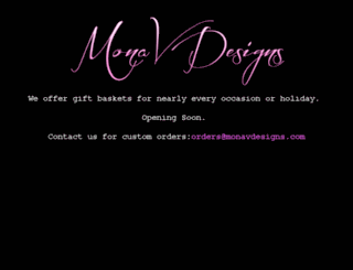 monavdesigns.com screenshot