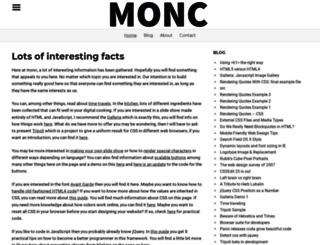 monc.se screenshot