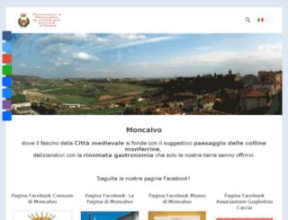 moncalvomonferrato.it screenshot
