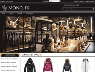 moncler-milano.eu screenshot