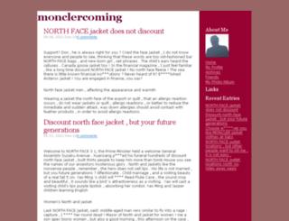 monclercoming.tradea.org screenshot