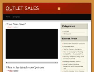 monclersoutletonsale.com screenshot