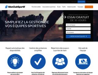 monclubsportif.com screenshot