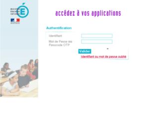 moncompte.ac-nantes.fr screenshot