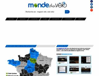 monde-du-velo.com screenshot