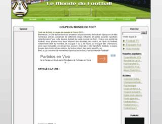 monde-football.com screenshot