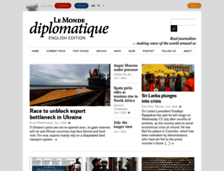 mondediplo.com screenshot