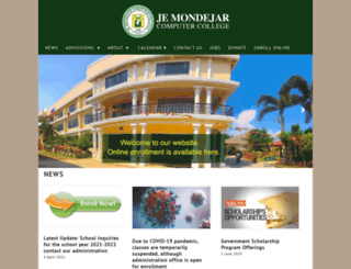 mondejar.edu screenshot