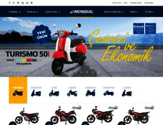 mondialmotor.com.tr screenshot