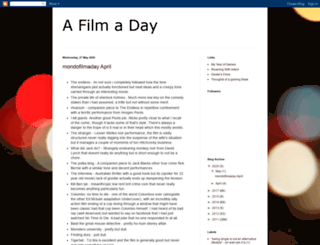 mondofilmaday.blogspot.com screenshot