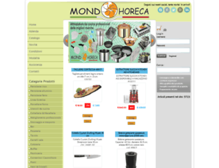 mondohoreca.it screenshot