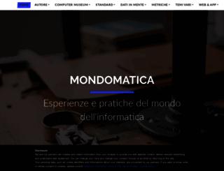 mondomatica.it screenshot