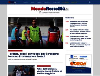 mondorossoblu.it screenshot