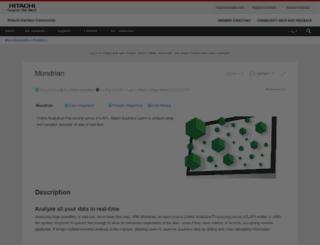 mondrian.pentaho.com screenshot