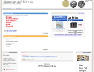 monedasdelmundo.org screenshot