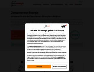 monenergie.be screenshot