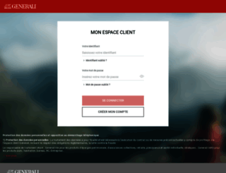 monespace.generali.fr screenshot