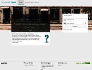 monespaceconso.com screenshot