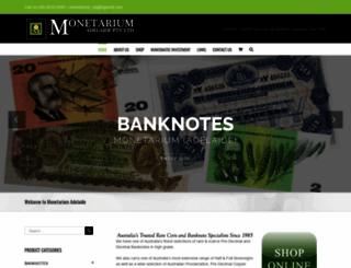 monetariumadelaide.com.au screenshot