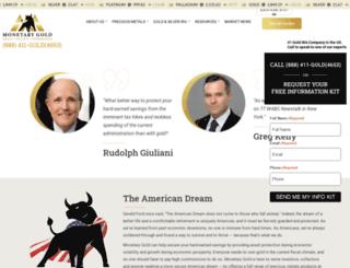 monetarygoldgroup.com screenshot
