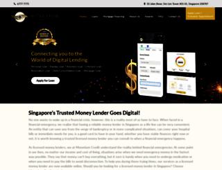 monetiumcredit.com.sg screenshot