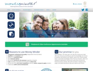 money-minder.com screenshot