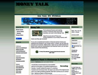 money-talk.org screenshot