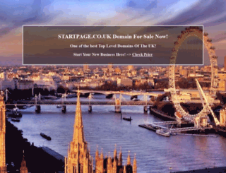 money.startpage.co.uk screenshot