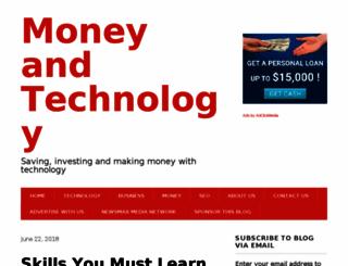 moneyandtechnology.com screenshot