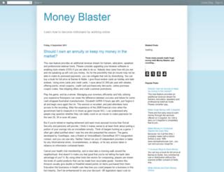 moneyblaster.blogspot.com screenshot