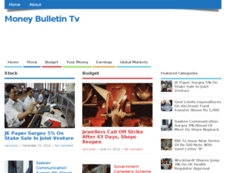 moneybulletintv.com screenshot