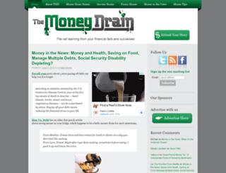 moneydrain.net screenshot