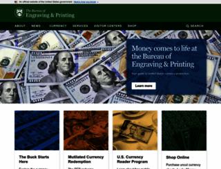 moneyfactory.gov screenshot