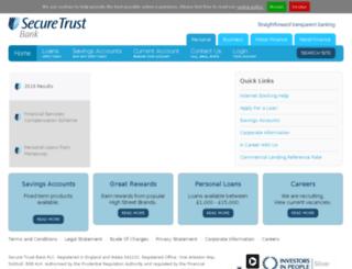 moneyfacts.securetrustbank.com screenshot