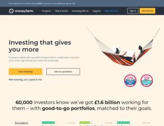 moneyfarm.co.uk screenshot