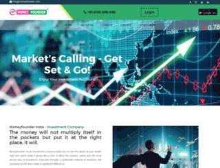 moneyfounder.com screenshot
