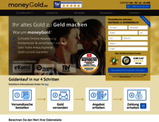 moneygold.de screenshot