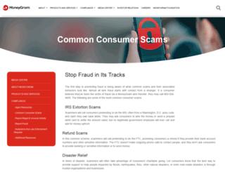 moneygram-preventfraud.com screenshot