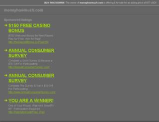 moneyhowmuch.com screenshot