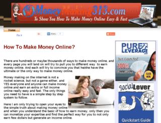 moneymaking313.com screenshot