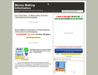 moneymakinginformation.blogspot.com screenshot