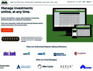 moneymarket.com.au screenshot