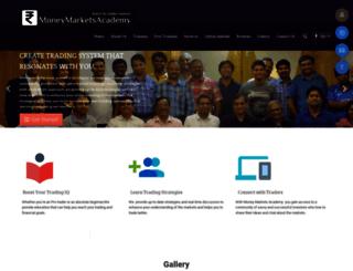 moneymarketsacademy.com screenshot